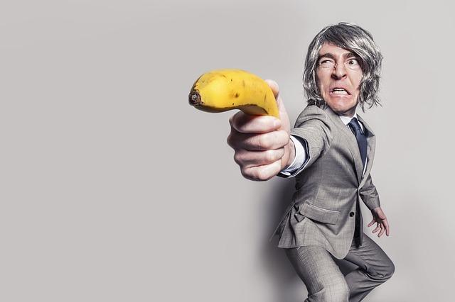 útok banánem