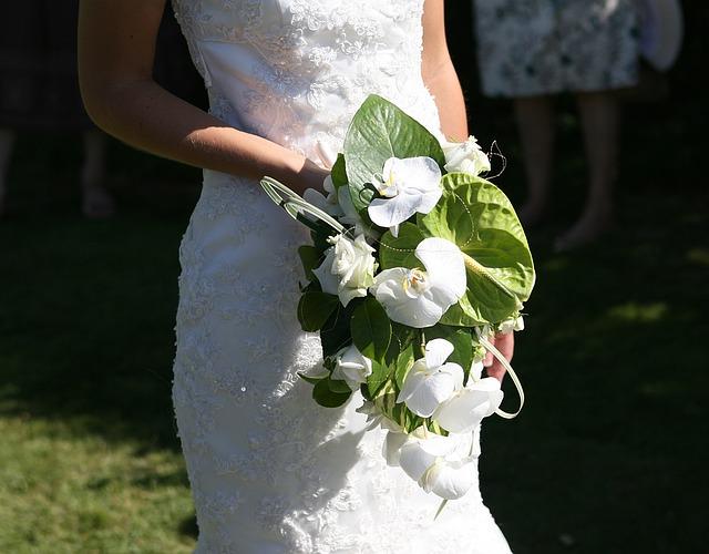 nevěsty kytice