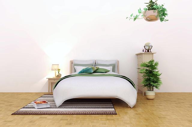 postel z borovice