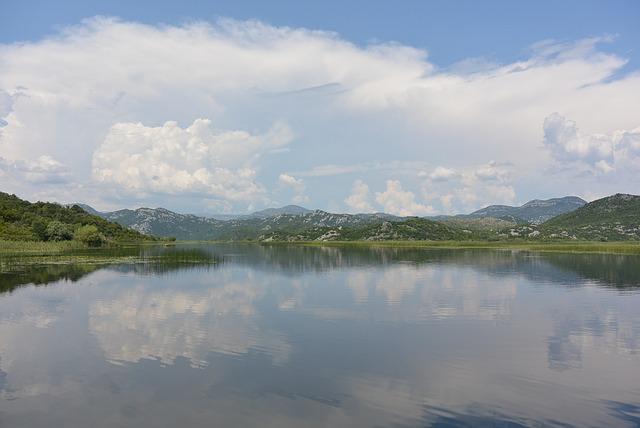 skadarské jezero a černá hora