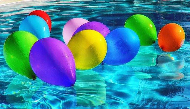 plovoucí balonky