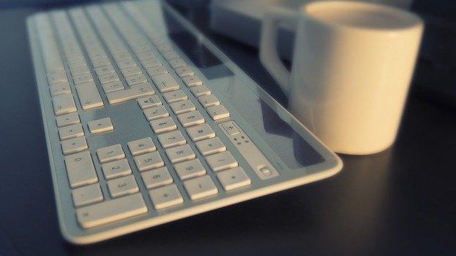 klávesnice na psaní